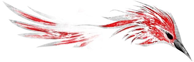 Baner El Cuervo Rojo
