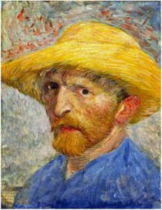 Autorretrato-con-sombrero-de-paja