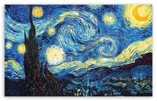 Stary Night / Noche estrellada  Vincent van Gogh