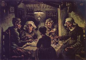 VincentVanGogh-The-Potato-Eaters-1885